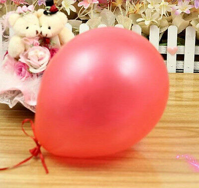 "New Lots Of 100PCS Birthday Wedding Party Decor Latex Balloons 10"" 9Color U Pick"