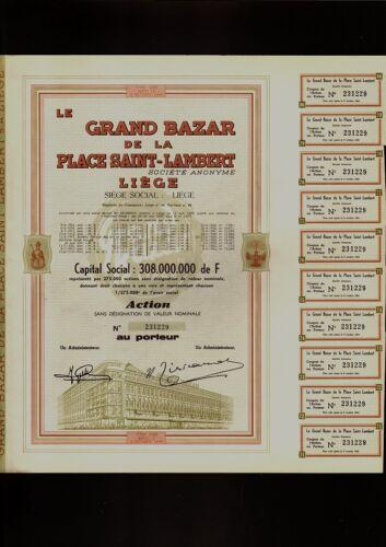 BELGIUM LIEGE Department Store LE GRAND BAZAR DE LA PLACE SAINT LAMBERT