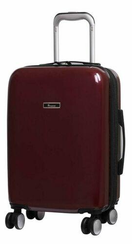 IT Luggage Sheen METALIK 8 roues étui dur Expander 55.5 cm Small Rouge Vin