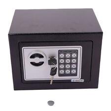 Sentry Digital Electronic Safe Box Keypad Lock Home Office Hotel Gun Steel Black