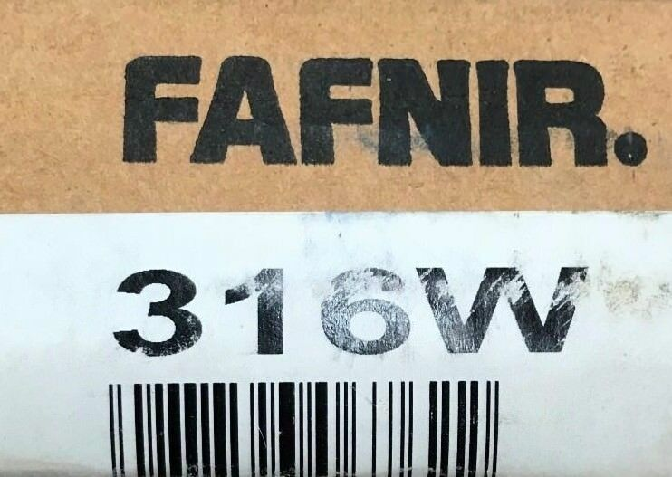 316-W FAFNIR Bearing Max Type Ball Bearing 80x170x39 mm