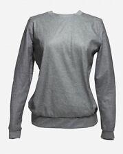 Nike LAB NikeLab White Label Mesh Crew Jumper Pullover Top Grey Gym Large 704663