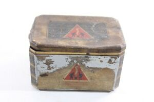 Old Tin Can Empty Container Old Vintage Can Collector Coffee Bremen