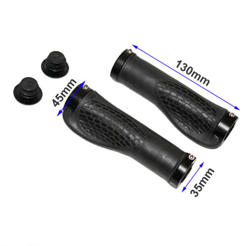 Rubber Ergonomic Mountain Bicycle Bike eBike Cycling Handlebar Hand Grips