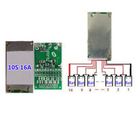 10S 36V 37V 16A BMS LiPo Cell Li-ion BMS Battery 18650 Protection PCB Board heiß