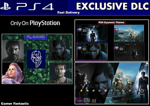 PS4-Dynamic-Theme-amp-Avatars-Digital-Code-Playstation-DLC-Americas-Europe