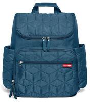 Skip Hop Forma Baby Diaper Bag Backpack W/ Changing Pad Peacock