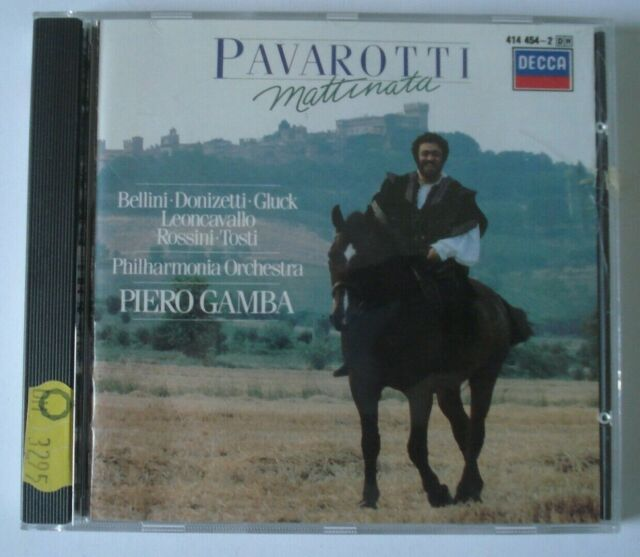 CD - Pavarotti - Mattinata - Philharmonia Orchestra - Gamba - Decca