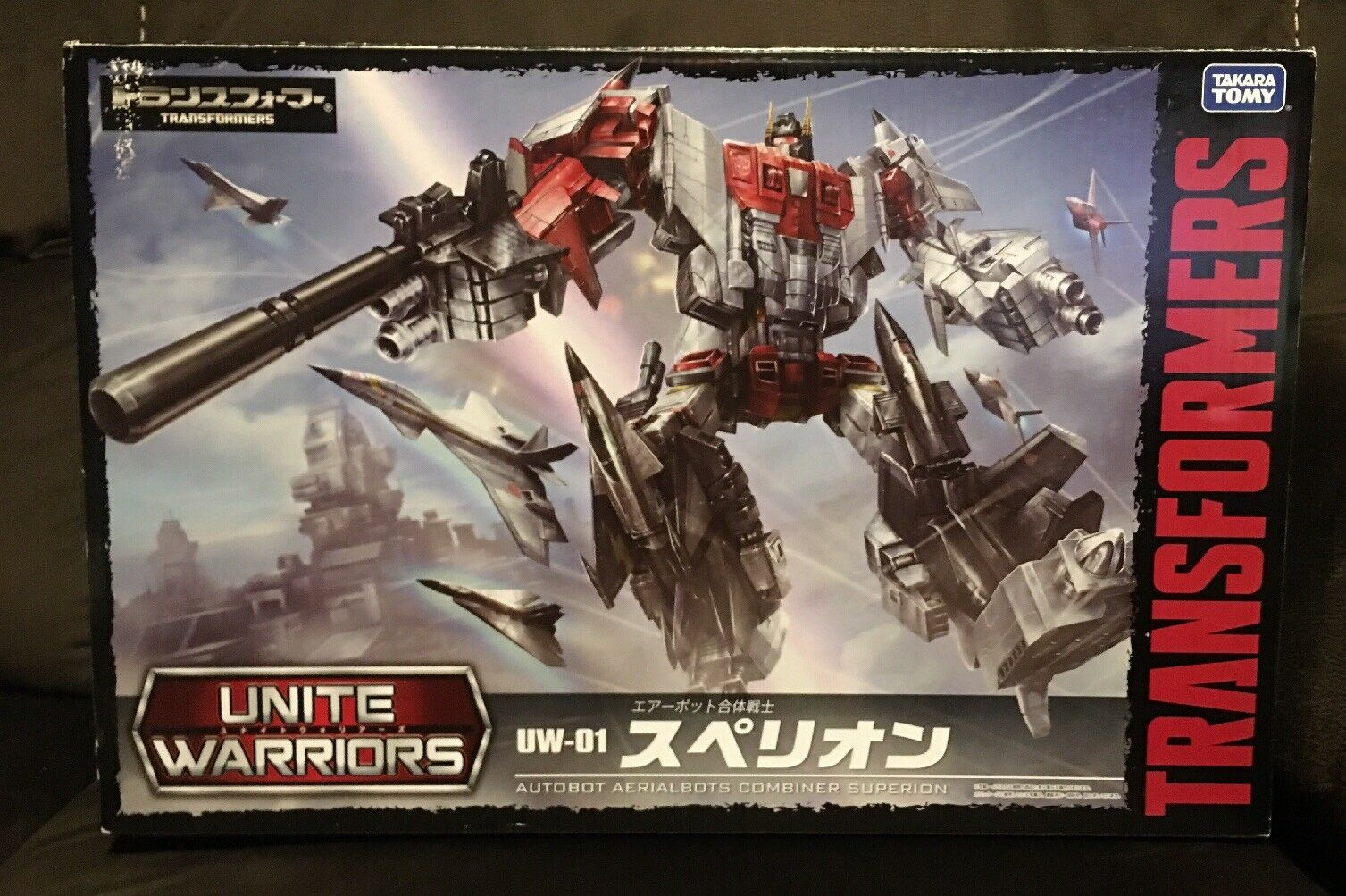 japanESE AUTHENTIC transformers UW01 SUPERION ENITE WARIORS 01 4904810831686
