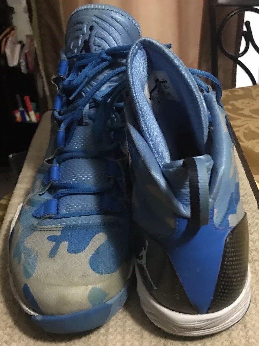 Men's Nike Air Jordan XXVIII  UNC Camo basketball shoes 12 (220)