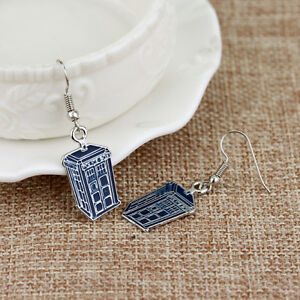 New-Phone-Booth-Dangle-Earrings-Tardis-Police-Box-Drop-Earrings-Women-Jewelry
