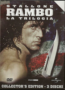 DVD-Rambo-La-Trilogia-Collector-039-s-Edition-3-dvd-ITALIANO-SLIPCASE-ED-LIMITATA