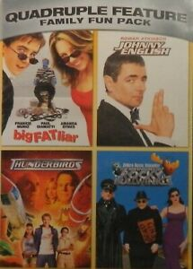 4-FAMILY-Comedies-BIG-FAT-LIAR-JOHNNY-ENGLISH-THUNDERBIRDS-ROCKY-and-BULLWINKLE