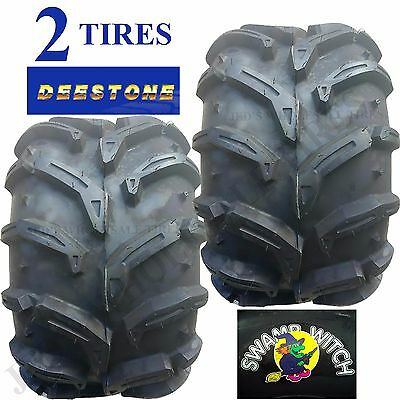 2-25X12-9 SWAMP WITCH ATV TIRES 1  PAIR   DS7925 25x12.00-9 25//12-9