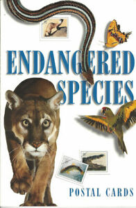 UX264-UX279-Endangered-Species-Postal-Cards-Book-Contains-15-Postal-Cards