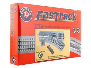 Brand-New-Lionel-O31-Remote-Command-FasTrack-Switch-Right-Hand-6-81253-TOTE1