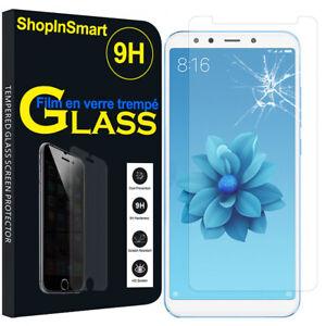 """Schutzglas Für Xiaomi Mi A2/ Mi 6X 5.99"""" Echtglas Display Schutzfolie"""