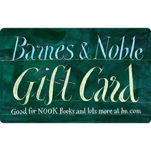 $50 / $100 Barnes & Noble Gift Card - FREE Mail Delivery | eBay