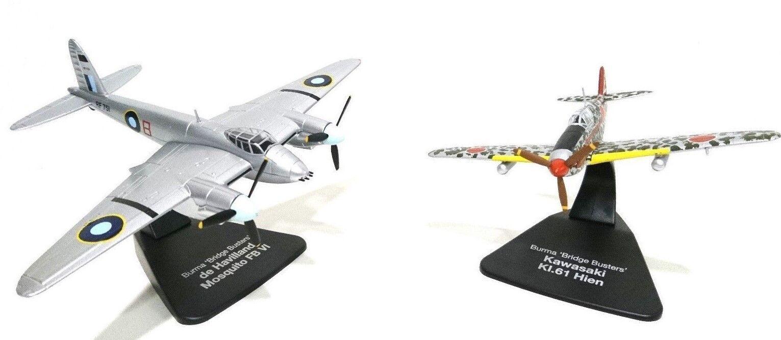 ATLAS OXFORD 1 72 DUELLING FIGHTERS RAF MOSQUITO FBVI KAWASAKI KI.61 HIEN JAPAN