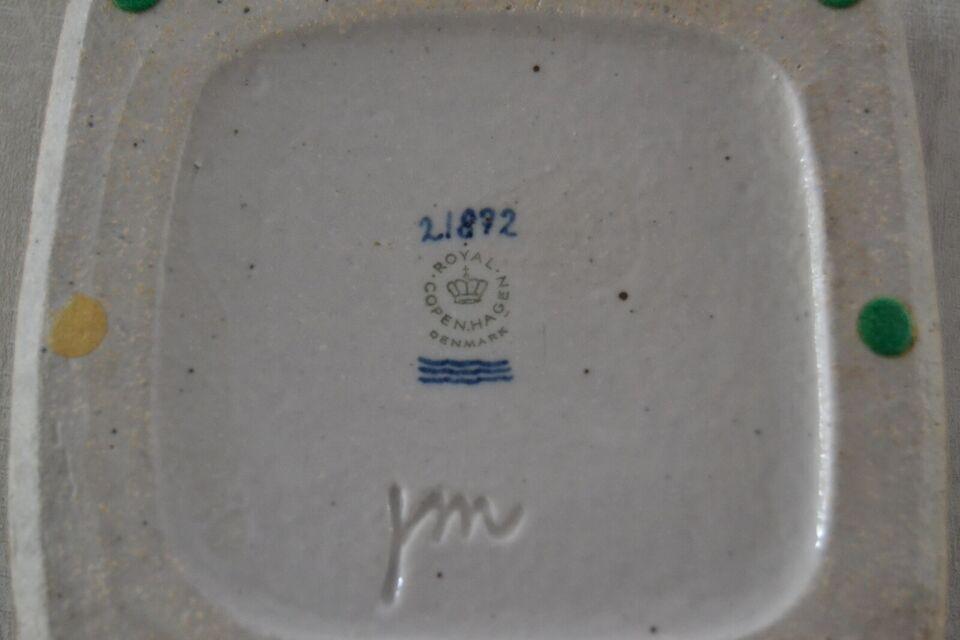 Keramik, skål/askebæger, royal copenhagen