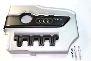 AUDI-Tts-TFSi-Cubierta-Del-Motor-Original-Con-Pernos-Kits-AL110