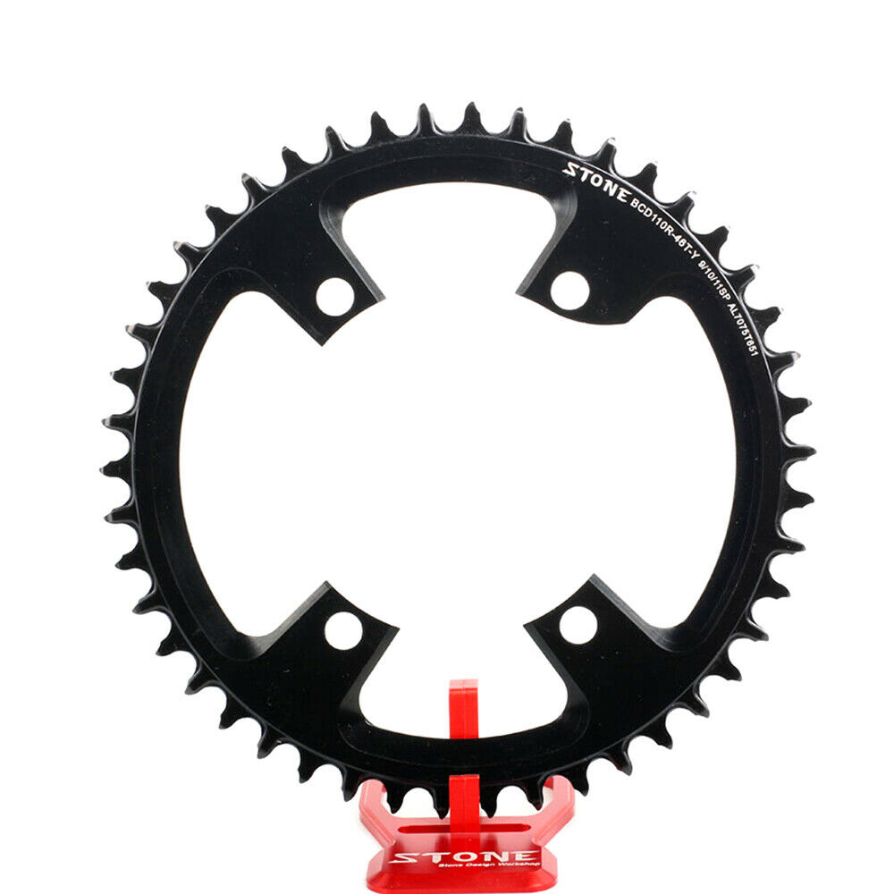 Stone Round Bike Single Chainring BCD 110 110mm  Fit R7000 Ultegra R8000 DA R9100  team promotions