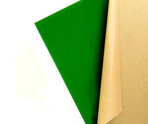 Green Translucent/So<wbr/>lid Acrylic Plexiglass sheet 1/8&#034; x 24&#034; x 47&#034; (#2108)