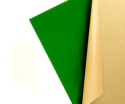 "4-pack Green Translucent//Solid Acrylic Plexiglass sheet 1//8/"" x 3/"" x 3/"" #2108"