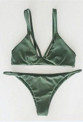 Fashion Women Push-up Bikini Set Ladies Padded Bra Bandage Triangle Swimwear