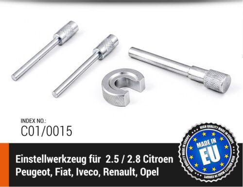 Peugeot Iveco Motor-Einstellwerkzeug 2.5 // 2.8 Citroen Fiat Renault Opel