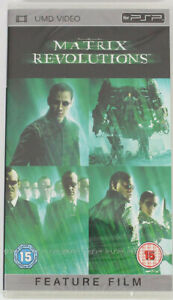 Matrix-Revolution-UMD-PSP-Movie-New-amp-Sealed