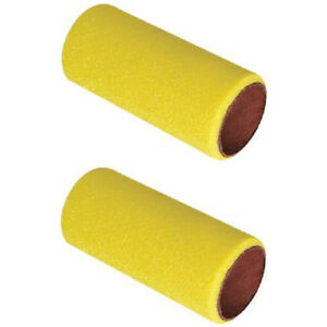 Details about 2 Pack 4 Inch Heavy Duty 3 mm Thick Foam Paint Rollers - Best  for Bottom Paint