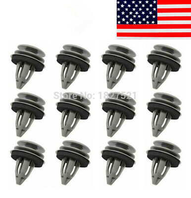 TOPAZ 100PCS Door Panel Car Retainer Clips for BMW E46 E90 E91 E36 E92 E60 E63