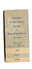 Vintage Program  KAPPA KAPPA GAMMA Sorority Beta Phi University of Montana 1947