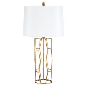 Table Lamp Open Geometric Design In