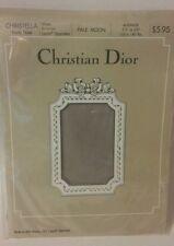 Christian Dior Vintage Christella Pantyhose Pale Moon Size Average Sheer Support
