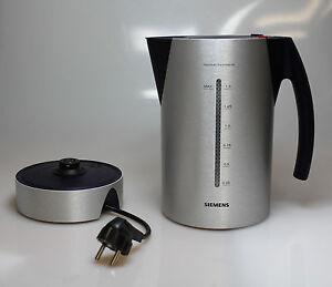 neuwertig porsche design siemens wasserkocher tw91100. Black Bedroom Furniture Sets. Home Design Ideas