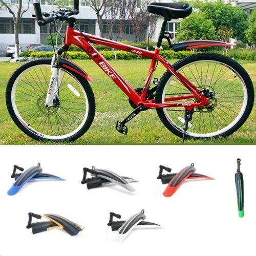 Bicycle Cycling Front /& Rear Mud Guards Mud Set MTB Mountain Bike Tire Fenders