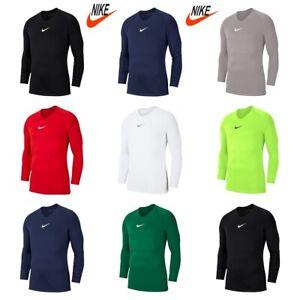 Nike-Pour-Hommes-Football-shirt-jersey-Parc-premiere-couche-haut-manches-longues-T-Shirts-Taille