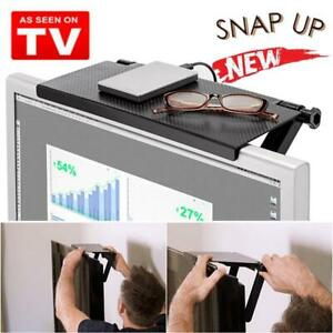 HOT-DEALS-Screen-Caddy-Screen-Top-Shelf-Folding-Design-The-Best-Space-Saver