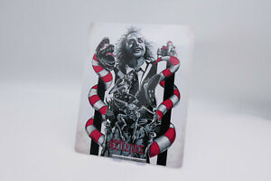 BEETLEJUICE - Glossy Bluray Steelbook Magnet Magnetic Cover (NOT LENTICULAR)