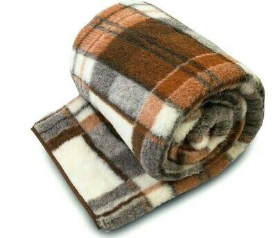 100/% Merino Wool Blanket SUPER KING Size Blanket THROW  250//200 cm WOOLMARK NEW