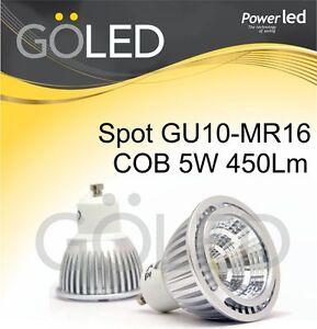 Lampada-Lampadina-Faretto-LED-5W-GU10-MR16-sost-lampada-alogena-dicroica