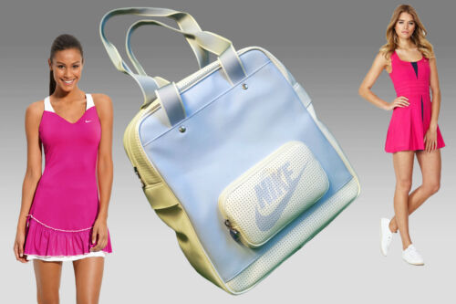 Bag Sports Ladies Shoulder Vintage New Court Womens Blue Gym Nike Light Y8qTwHFZ