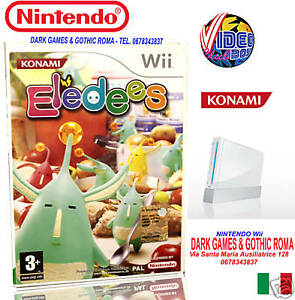 ELEDEES-GIOCO-NUOVO-PER-NINTENDO-Wii-EDIZIONE-ITALIANA-PAL-MULTILINGUA-KONAMI