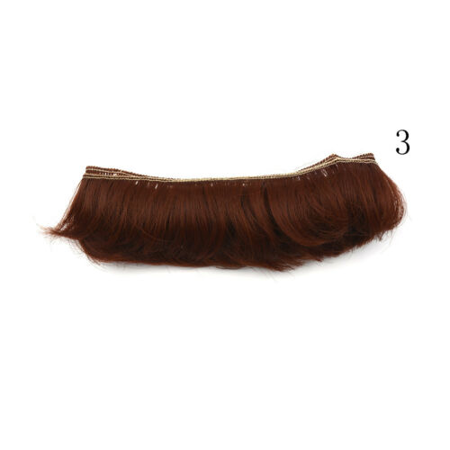 5cm fringe doll natural hair DIY wigs for handmade doll bang doll wig TO