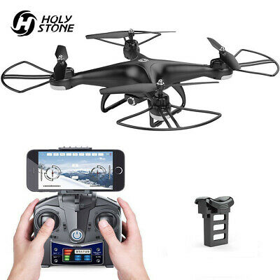 Holy Stone HS200D FPV RC Drone with 720P Camera 120/°FOV Live Video WiFi Quadcopter for Beginners and Kids RTF RC Helicopter with Altitude Hold 3D Flips Color Black