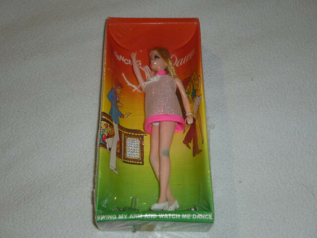 NEW IN BOX SEALED DANCING DAWN DOLL POSEABLE TOPPER CORP 1970 VINTAGE RARE NISB