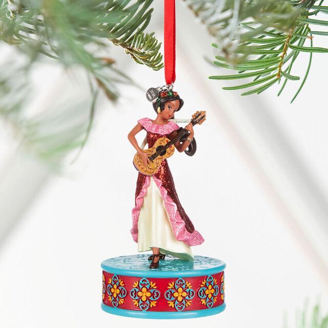 2016 Disney Elena Of Avalor Singing Sketchbook Ornament