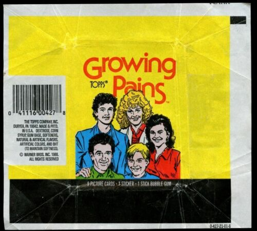 Growing Pains Topps Trading Cards Wrapper #W6